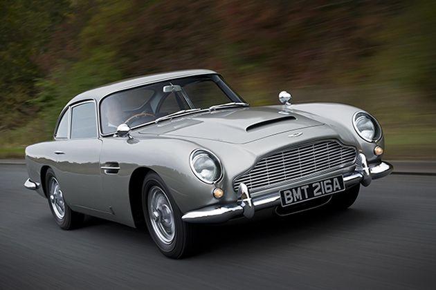 Book on james bond cars