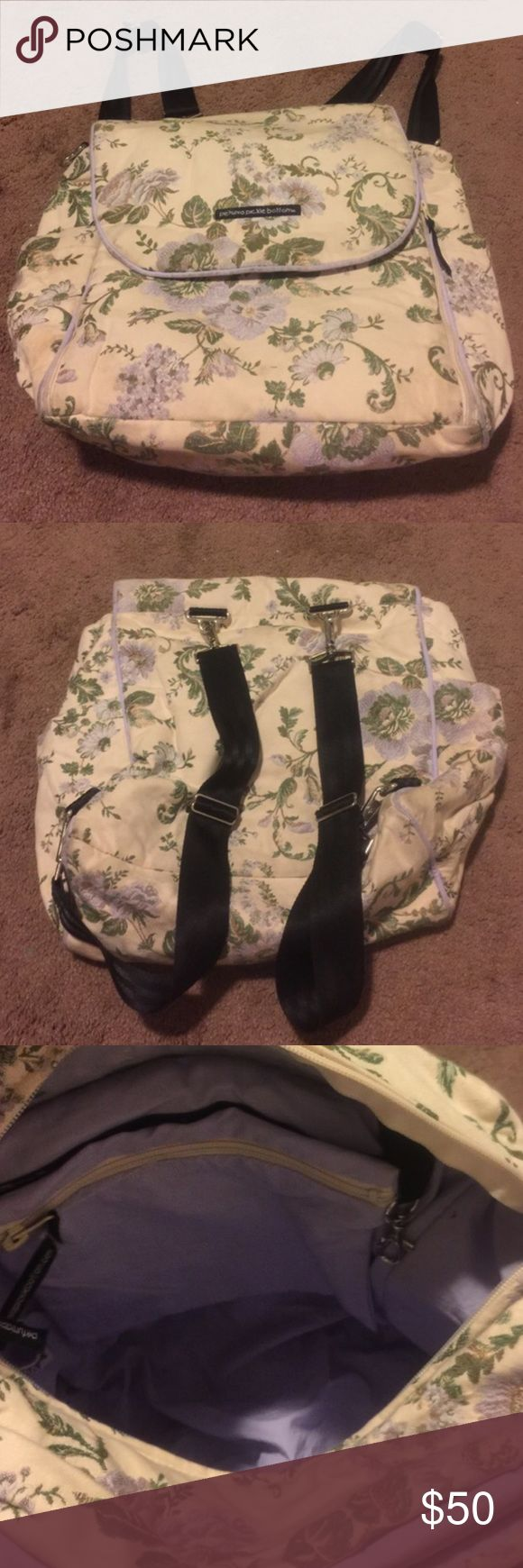 Petunia Pickle Bottom Backpack Petunia Pickle Bottom baby backpack. Comes with changing pad Petunia Pickle Bottom Bags Baby Bags