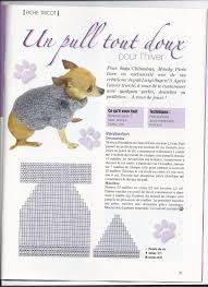 """Résultat de recherche d'images pour """"tricot pour chien patron"""""""