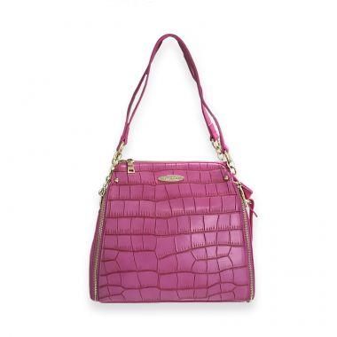 Tokyo Pink Satchel Bag