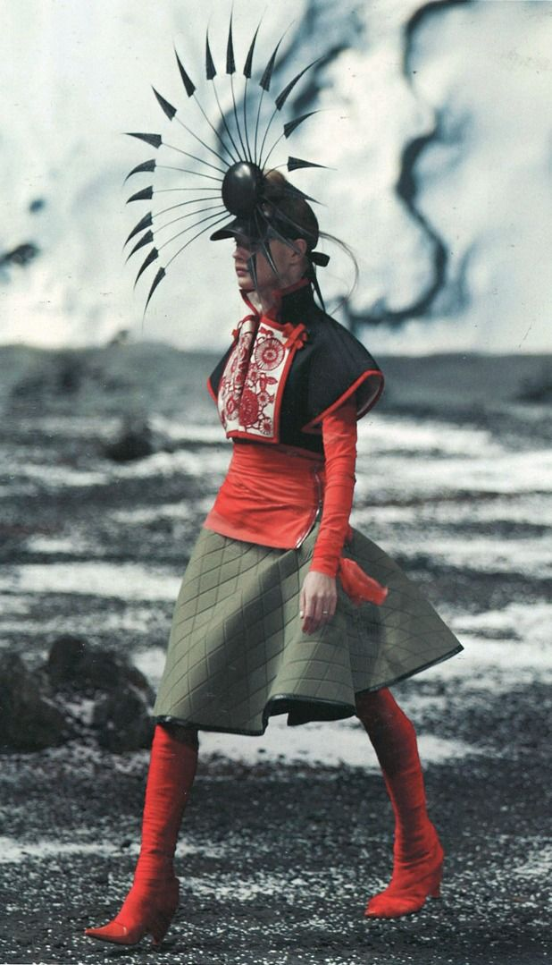 The Gifts Of Life. Alexander McQueen 2003