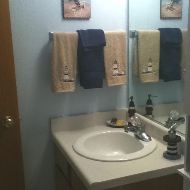 Sailor Themed Bathroom: Nautical Themed Bathroom