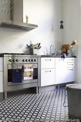 spanish inspired tile floor