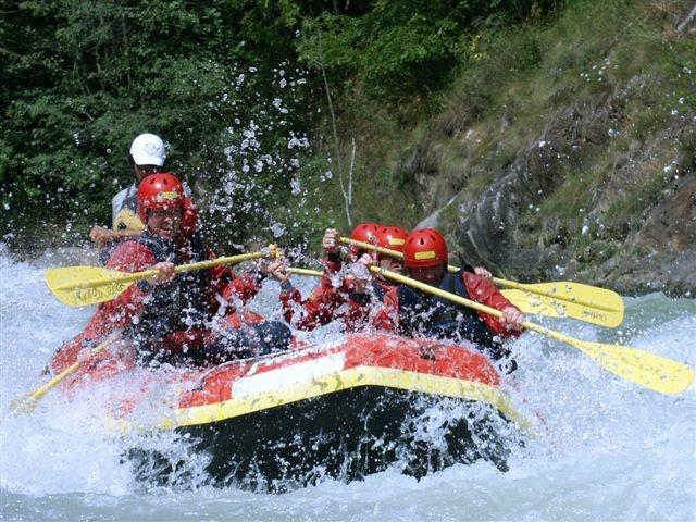 Rafting in Val di Sole