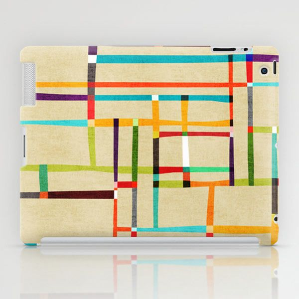 The map (after Mondrian) by Budi Satria Kwan  iPad case