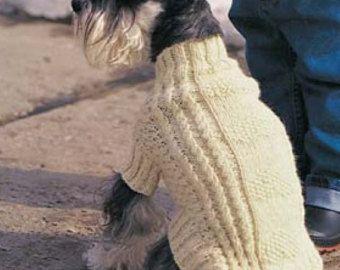 Capa de suéter que hace punto patrones PDF Cable por PillandPattern