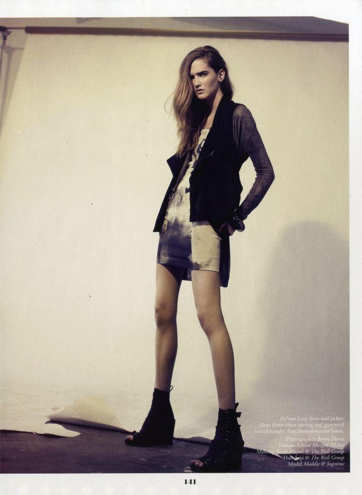 #editorial #fashion #model #rock #grunge