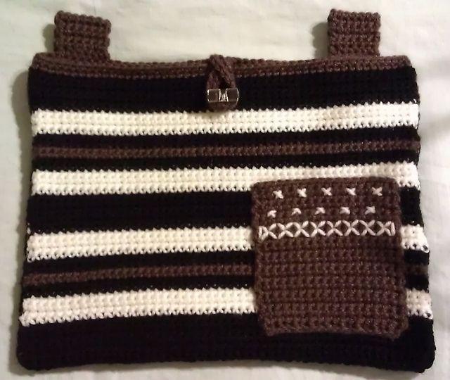 Crochet Patterns For Walker Bags : Ravelry: mvazquezcsrs Helping Hand Walker Bag Crochet ...