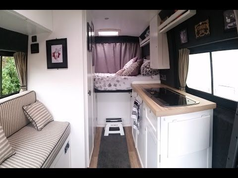 2 NEW UPDATED VAN TOUR Self Build Citroen Relay Campervan Conversion Tour