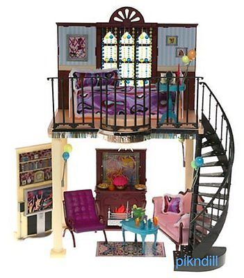 New Barbie Doll My Scene Party Pad Masquerade Madness House Loft Lights Sounds | eBay