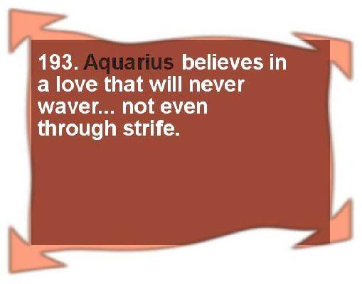Today's Aquarius Love Horoscope