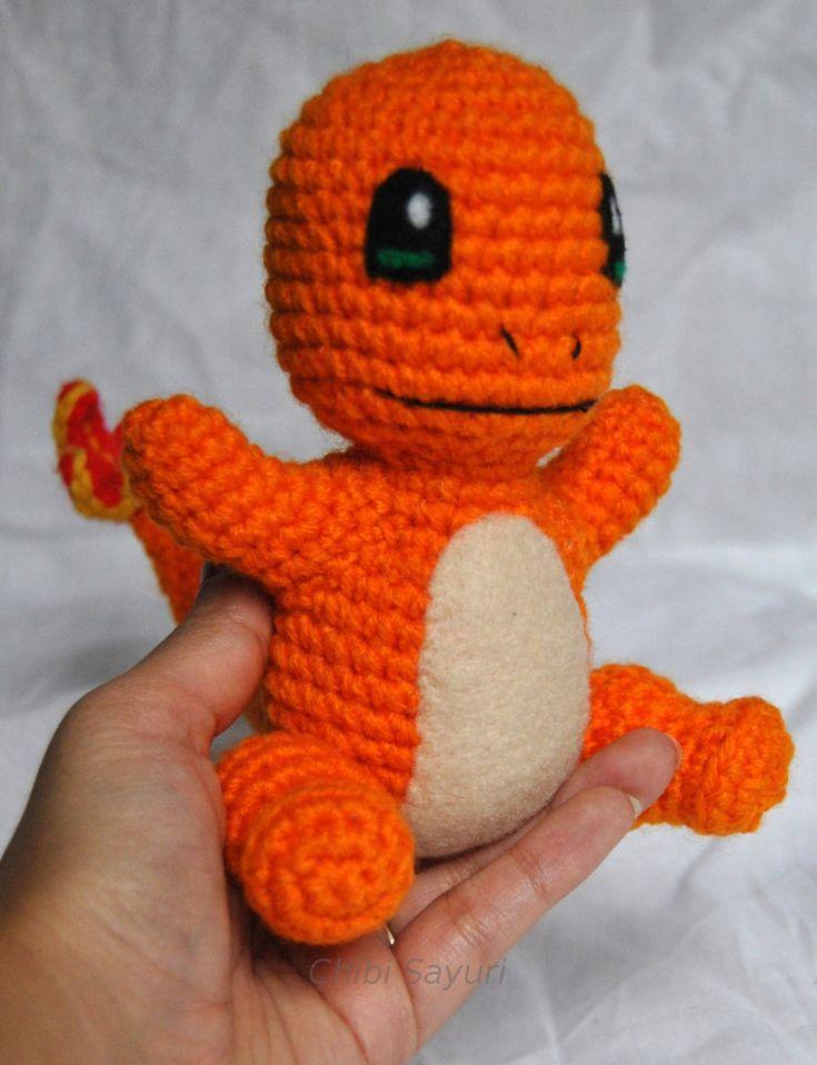Charmander Pokemon Inspired Amigurumi New by ChibiSayuriEtsy.deviantart.com on @DeviantArt