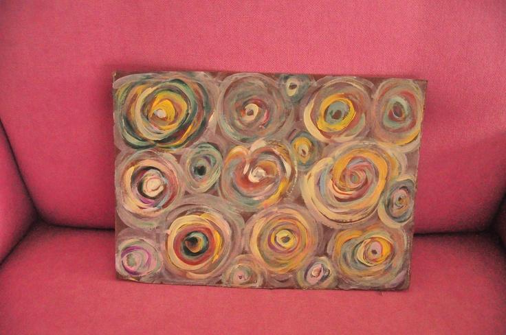 Pintura sobre cartão. http://www.facebook.com/segreto.piccolo