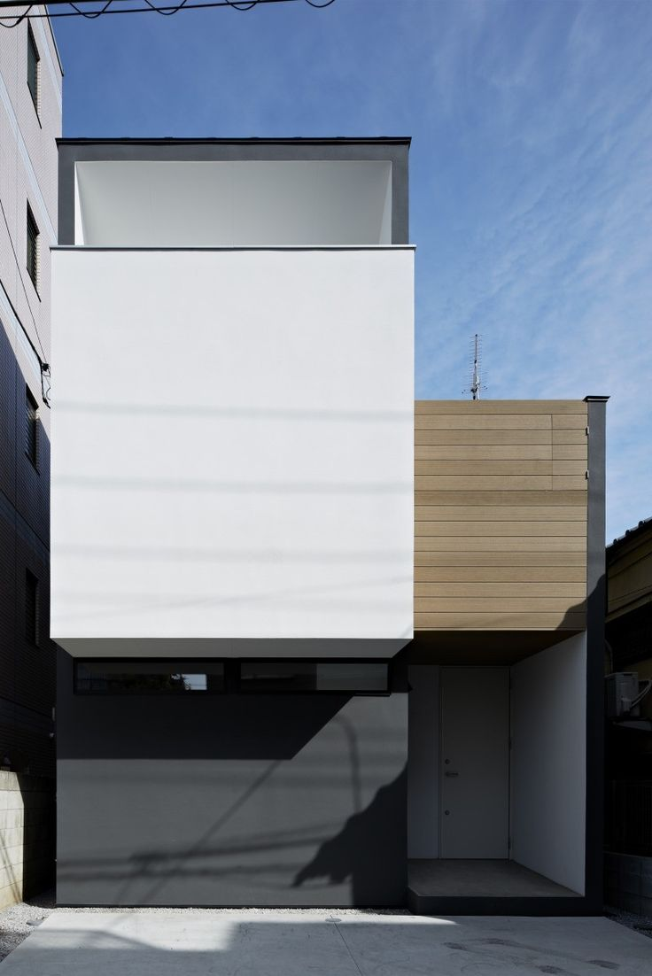 Nn house panda koto ku tokyo a residential for Minimalist residential architecture