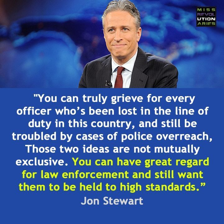 AMEN JON! AMEN! If the light we shine on them is not greater than the light we shine on the public, there is no justice.