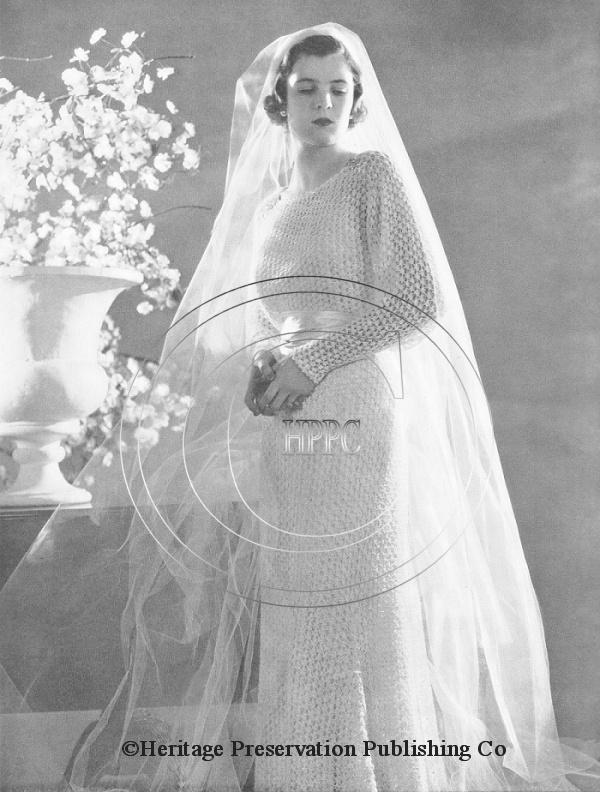 27 best Vintage Wedding knitted items images on Pinterest | Short ...