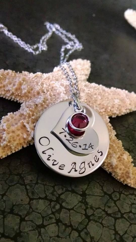Personalized Mothers Day Gift First Time Mom by DawnsMetalDesigns