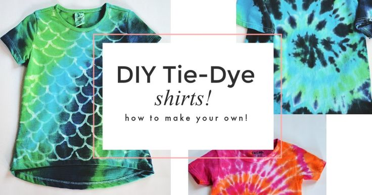 DIY Tie-Dye Shirts – How To Make Your Own