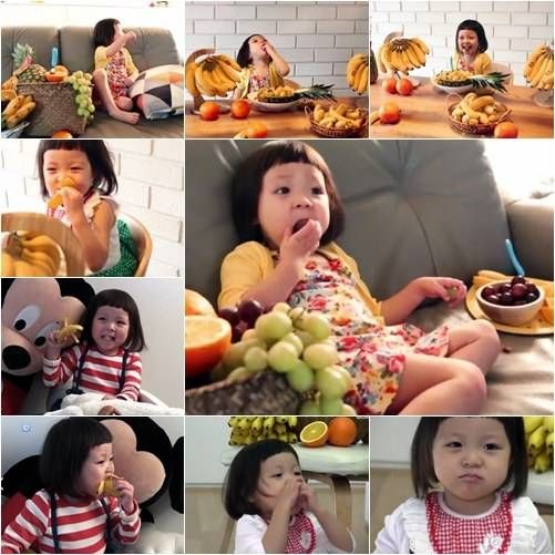 Choo Sarang puts on an 'eating broadcast' for 'Del Monte Korea'