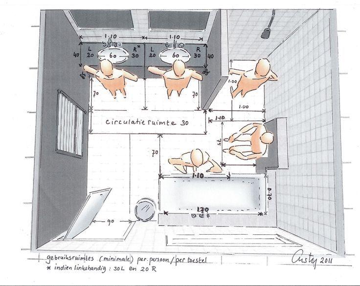 Die Besten 25+ Badezimmer 8m2 Planen Ideen Auf Pinterest   Badezimmer 5m2