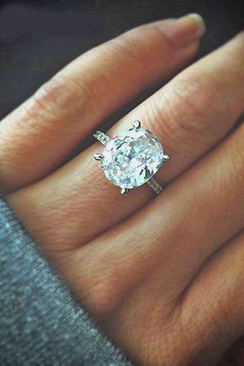 43 stunning engagement rings shell love - Most Beautiful Wedding Rings