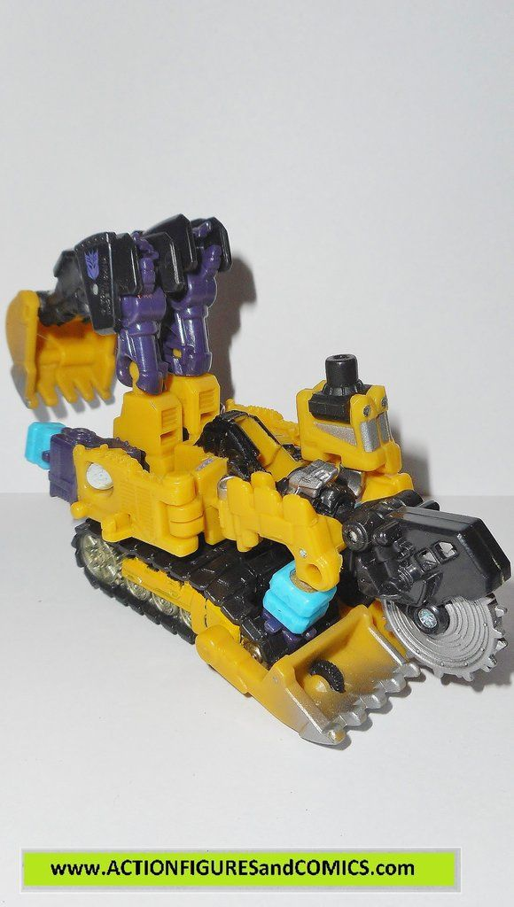 Takara / Hasbro toys action figures for sale to buy TRANSFORMERS: POWERCORE COMBINERS 2009 SLEDGE & minicon partner THROTTLE 100% COMPLETE with all weapons/accessories and parts. Condition: Excellent
