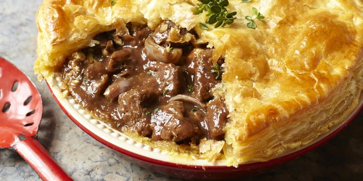 This delicious winter-warming recipe for steak, dark ale and stilton pie comes from chef Ben O'Donoghue, is ideal for slow-cooking during the colder months.