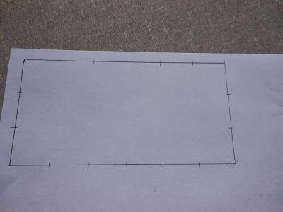 Na postagem dessa semana quero mostrar a vocês como fazer um padrão bem simples de ser feito, que pode ser usado para cobrir uma área grand...
