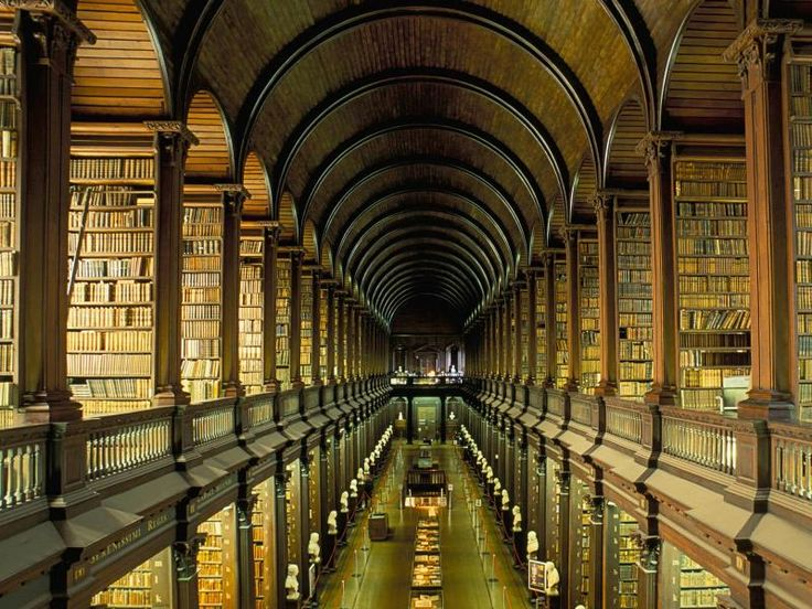Old Library at Trinity College, Dublin