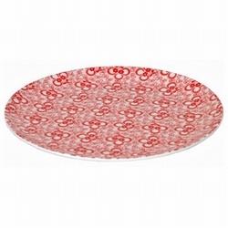 Melamine Bord Fries Roosje Rood 20cm