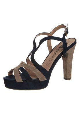 Sandali con i tacchi - blu