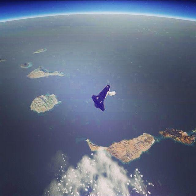 Islas Canarias vistas desde la NASA