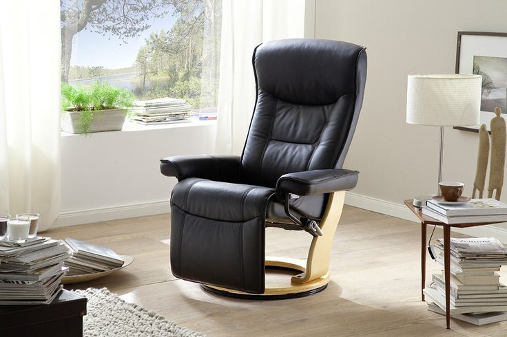 Relax-SesselVenedig mit Fußstütze Absolut hochwertig verarbeiteter bequemer Wohnsessel in ansprechendem Design. Ein zeitloses Möbelstück zum Entspannen mit raffinierten Details für...