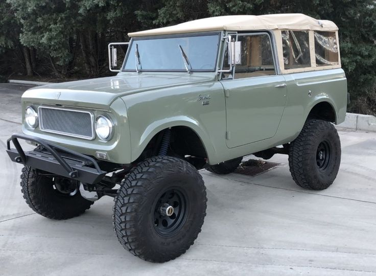 1969 Worldwide Harvester Scout 800