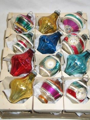 Vintage Christmas Ornaments from 1950