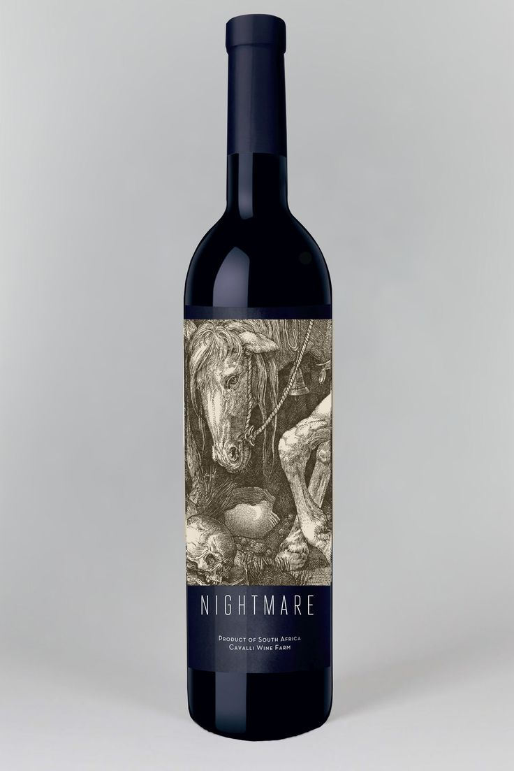 "If dark horses are your thing, then meet ""Night Mare"", 63% Shiraz/ 27% Grenache."