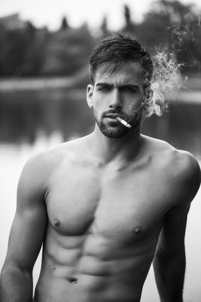 Nude men smoking Nude Photos 25