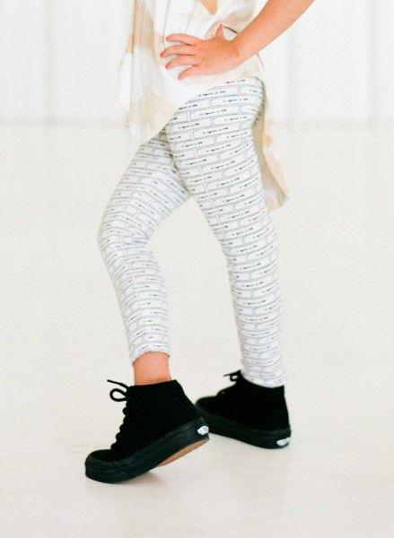 Printed Leggings - Fortune Color