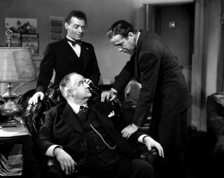 The Maltese Falcon (1941): Humphrey Bogart, Sydney Greenstreet, Peter Lorre.