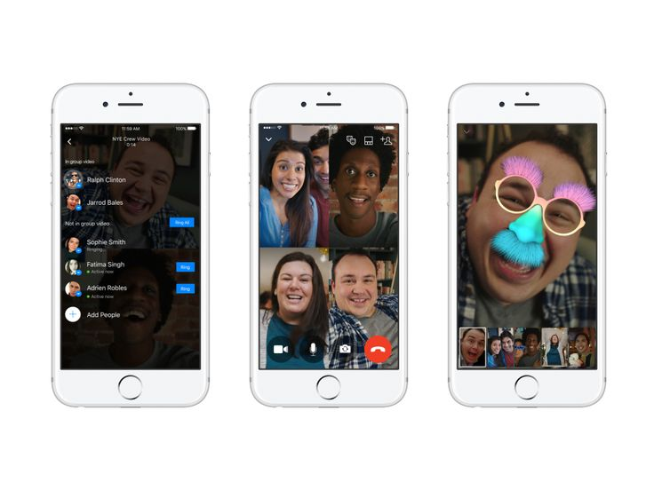 Facebook Brings Group Video Chat to Messenger - The Social Shake-Up Show
