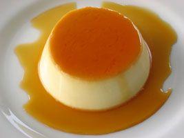 Crème #caramel au lait de #soya  Version sans lactose disponible