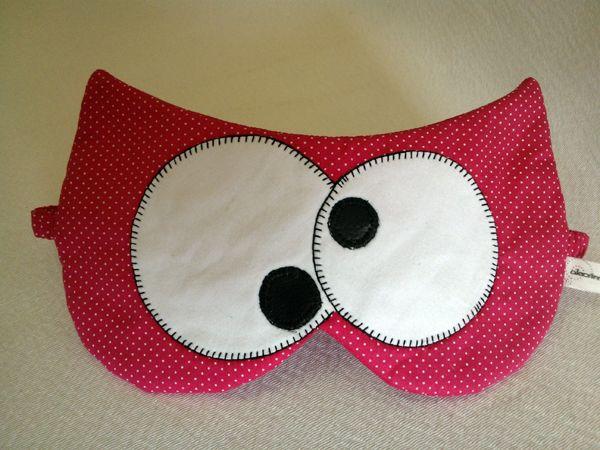alecrim: máscara de dormir: coruja
