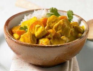 Chicken-Kokos-Curry Rezept