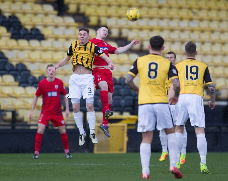 Queen's Park's Conor McVey in action during the Ladbrokes League One game between East Fife and Queen's Park.