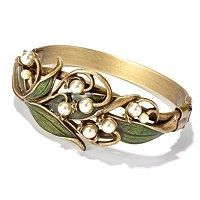 lily of the valley ring. Beautiful.