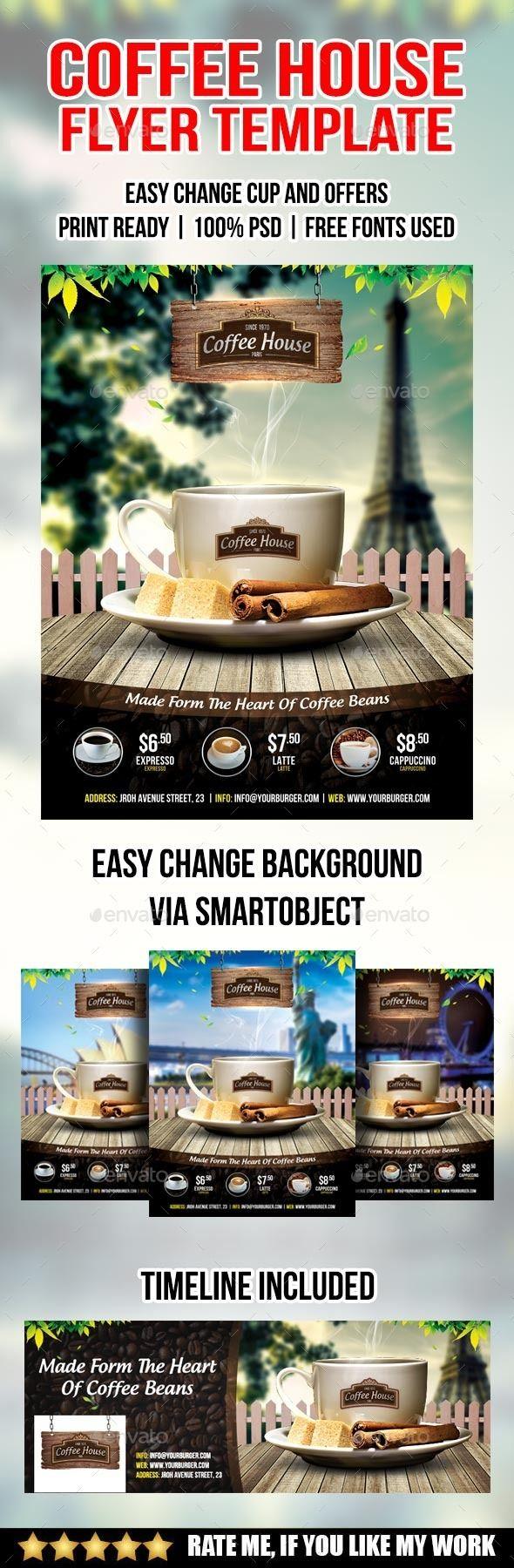 Coffee shop flyer - Restaurant Flyers
