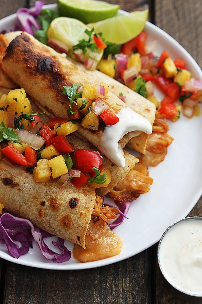 , Cheese Taquito, Hawaiian Bbq Chicken Taquito, Slow Cooker Chicken ...