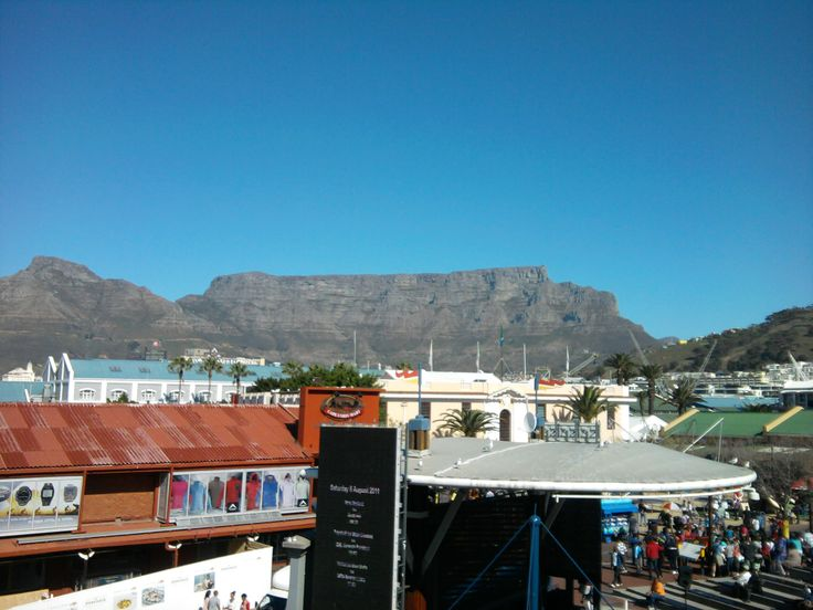 Table mountain view from the v&a