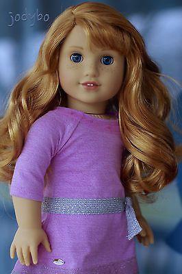 ENCHANTING-American-Girl-Custom-doll-GOTY-Grace-Thomas-with-Maryellen-wig