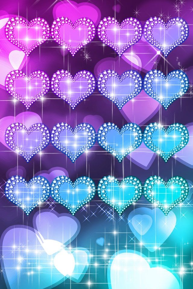 Super Cute Heart Wallpaper for  IPhones ,IPads, And IPods